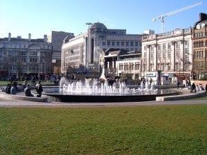Turismo por la ciudad de manchester UK