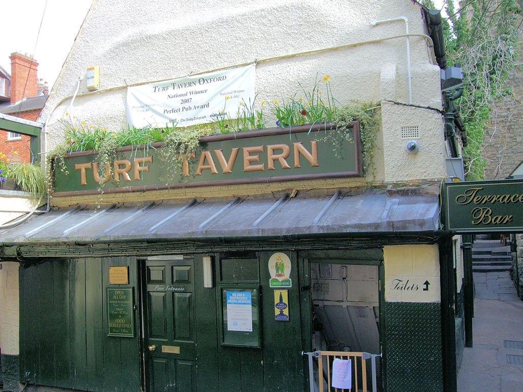 Ciudad de Oxford en el Reino Unido: Turf Tavern