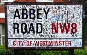 disco del grupo en abbey road