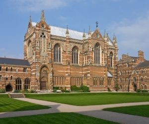 Keble College Chapel Universidad de Oxord