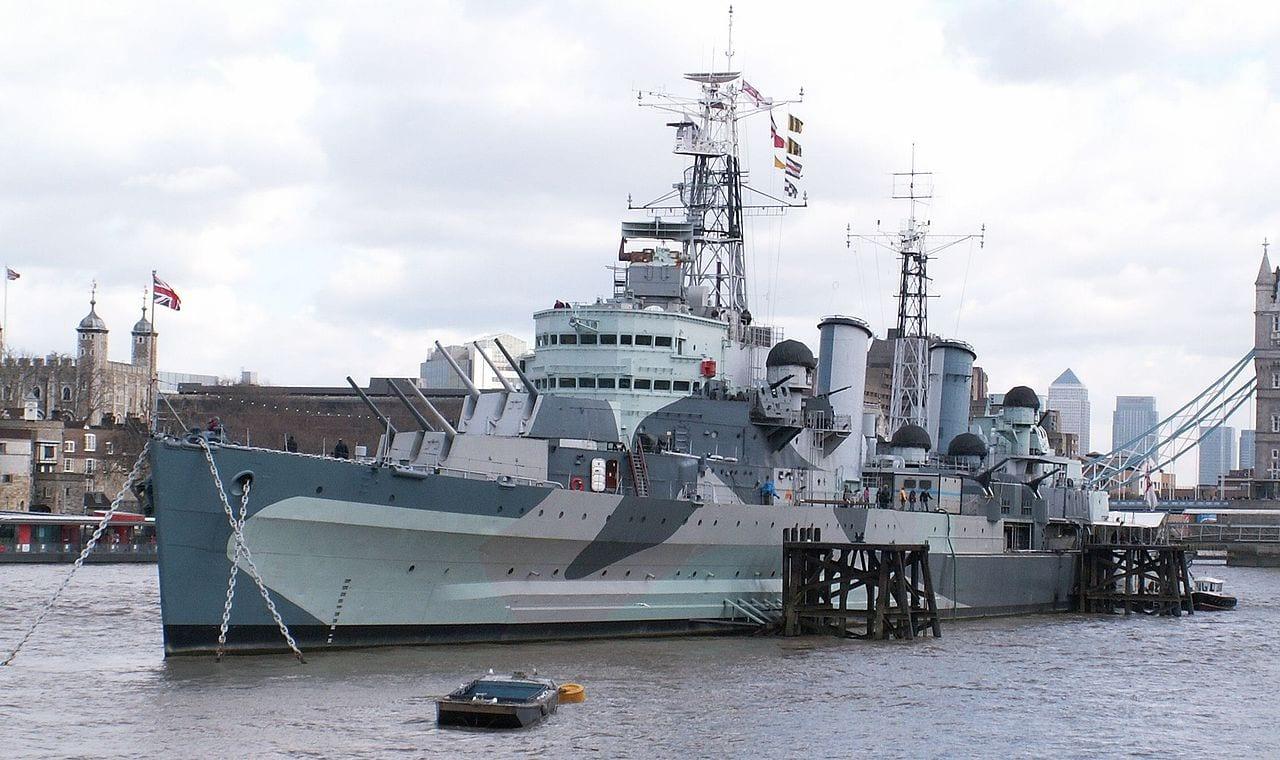 Buque de Guerra HMS Belfast