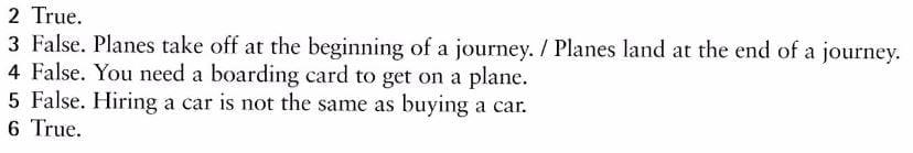 vocabulario ingles viajar