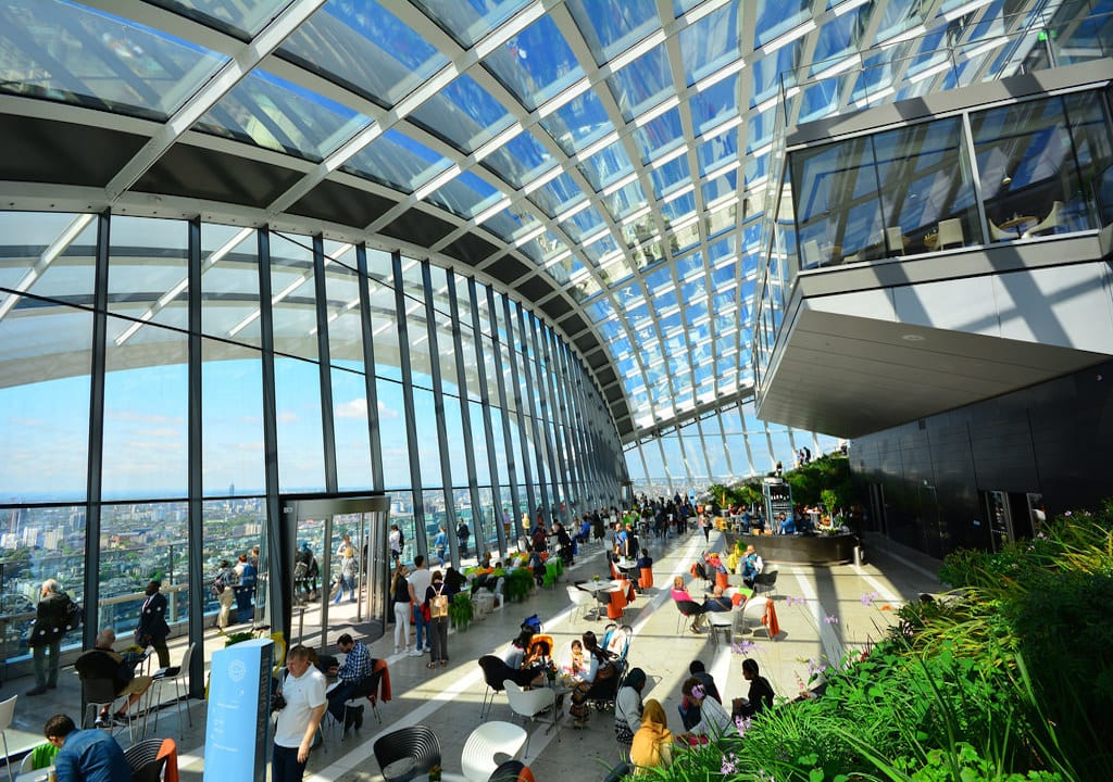 Reservar entrada gratuita al Sky Garden