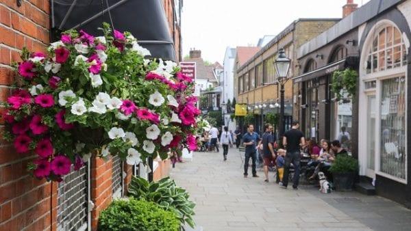 calles de Hampstead