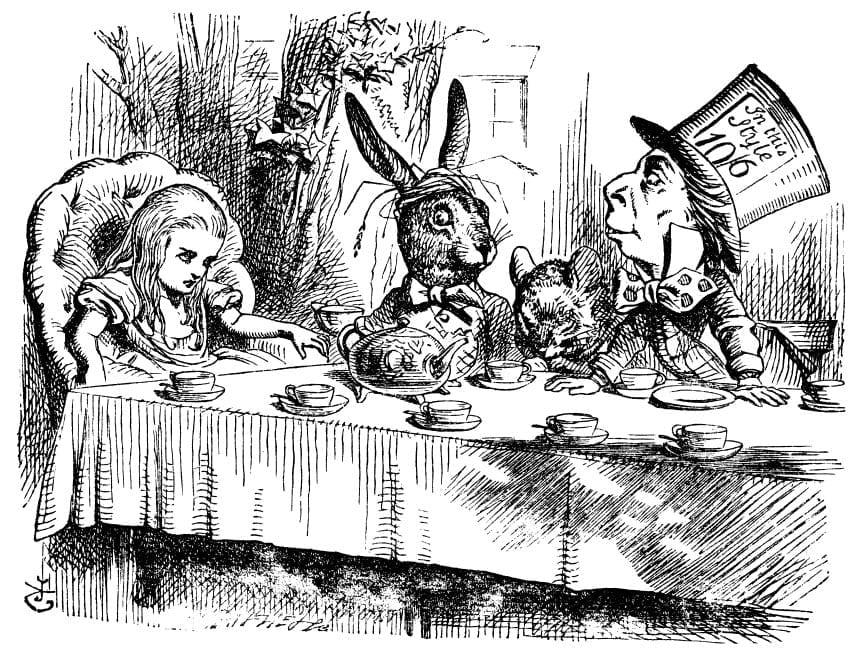 Alice's Adventures in Wonderland - Drawing
