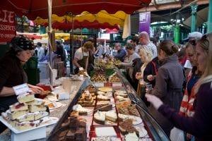Borough Market en Londres