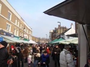 Broadway Market, mercado en Hackney