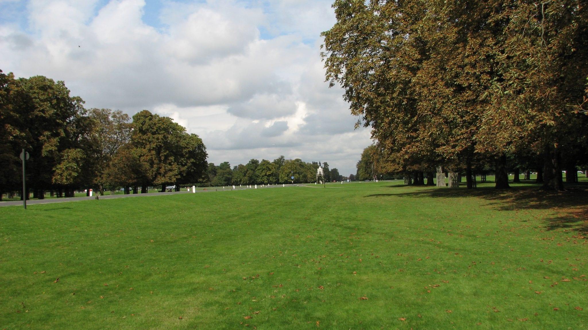 Zonas verdes como lugares de interés de Londres