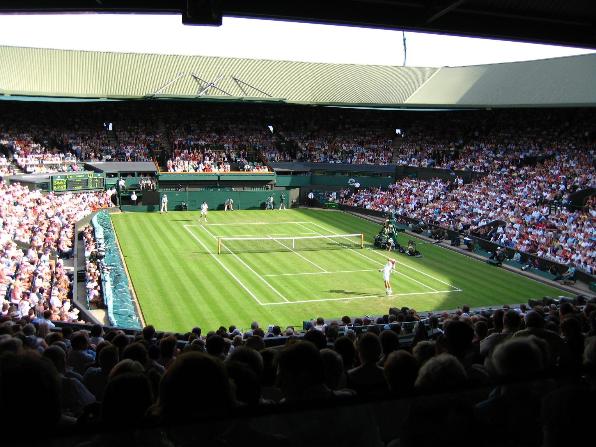 Wimbledon zona de la ciudad para los deportes