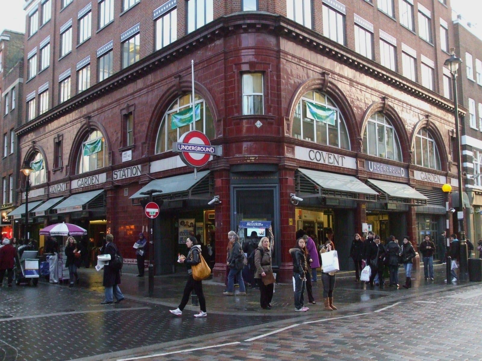 Mercado con comida: Covent Garden