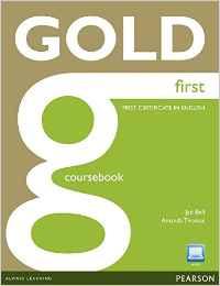portada del libro de estudiar gold first