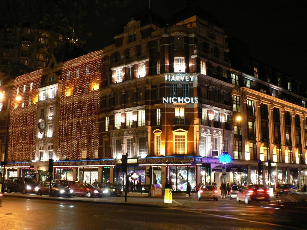 Harvey Nichols en Knightsbridge, Londres