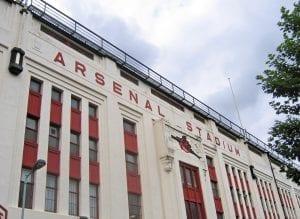 Higbury Stadium, tour Arsenal