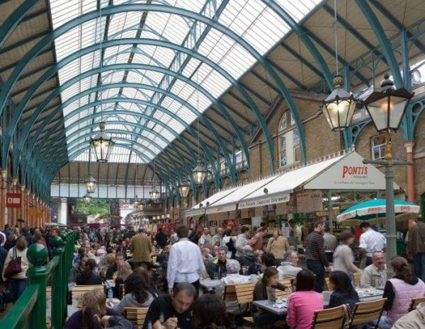 Mercadillos de Londres: Covent Garden