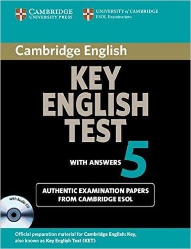 portada del libro ket practice tests