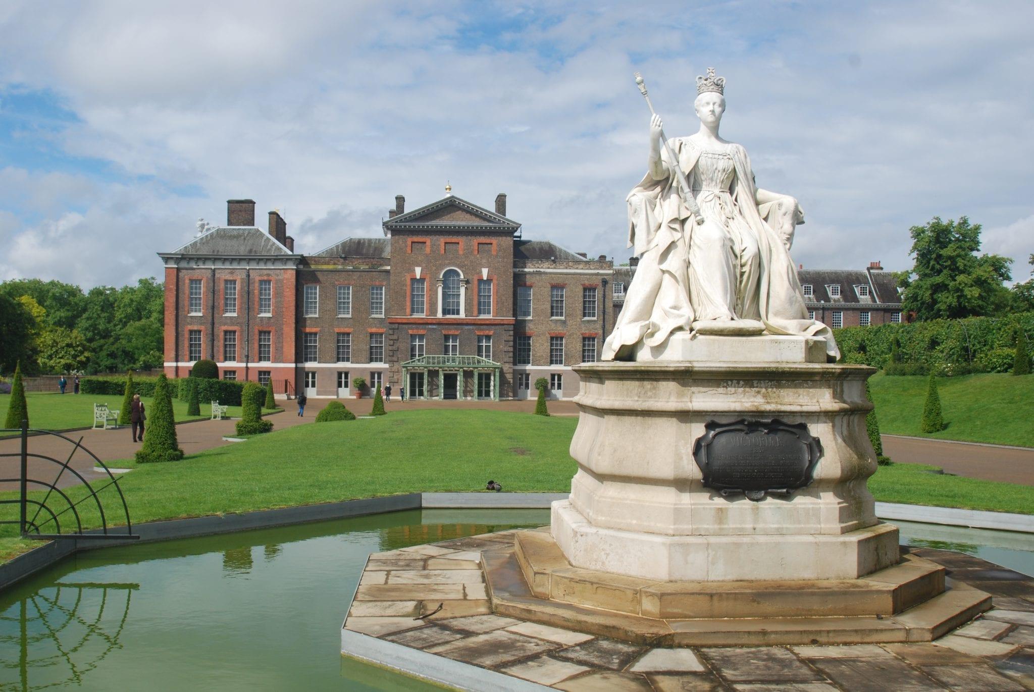 Giardini di Kensington a Londra