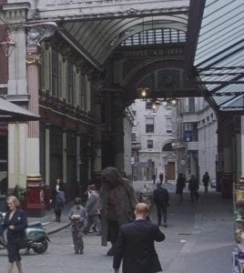 Harry Potter en Leadenhall Market