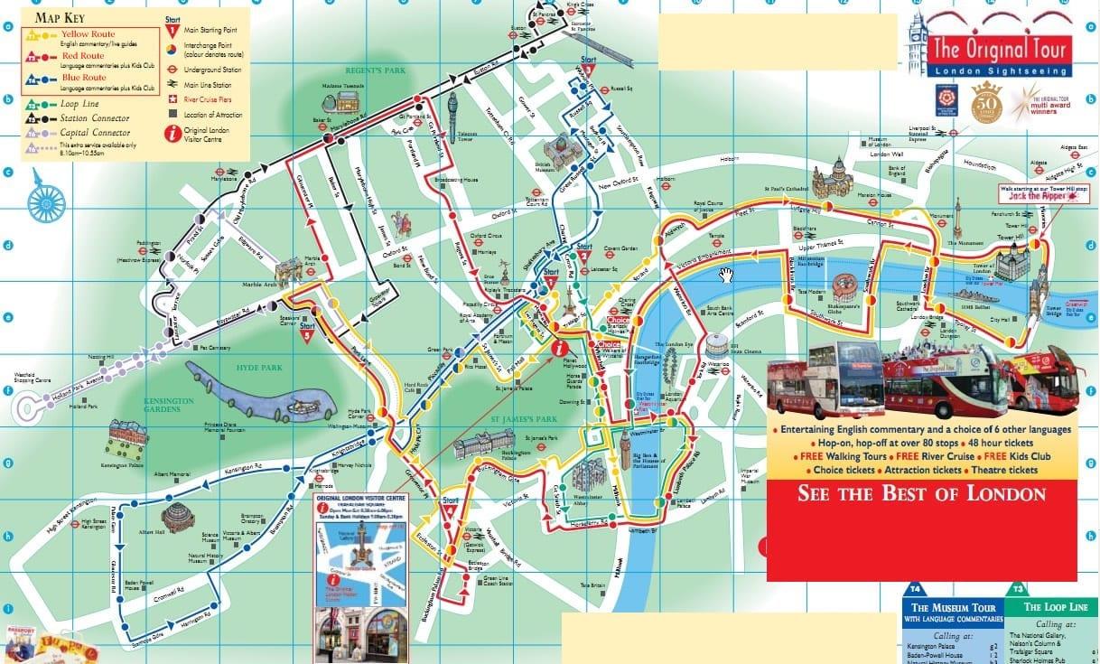 billete para ver monumentos con autobús turístico