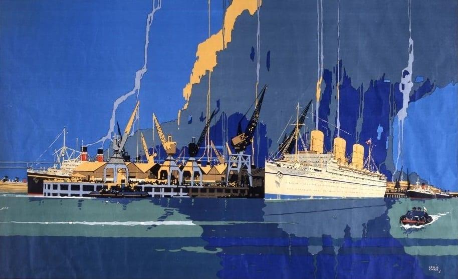 historia del puerto de southampton