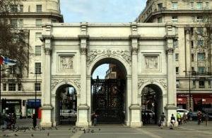Arco del triunfo Marble Arch