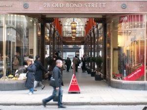 Old bond street en Mayfair