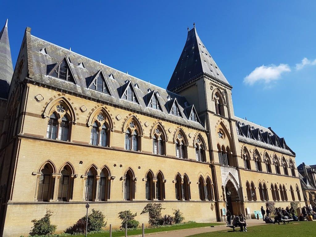 Ciudad de Oxford en el Reino Unido: Museum of Natural History