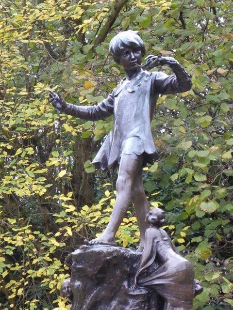 Peter Pan Statue en Kensington Gardens
