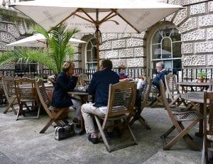 Edificio de Somerset House y Courtauld Gallery Café