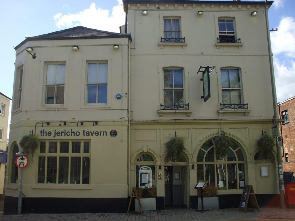 Ciudad de Oxford en el Reino Unido: The Jericho Tavern