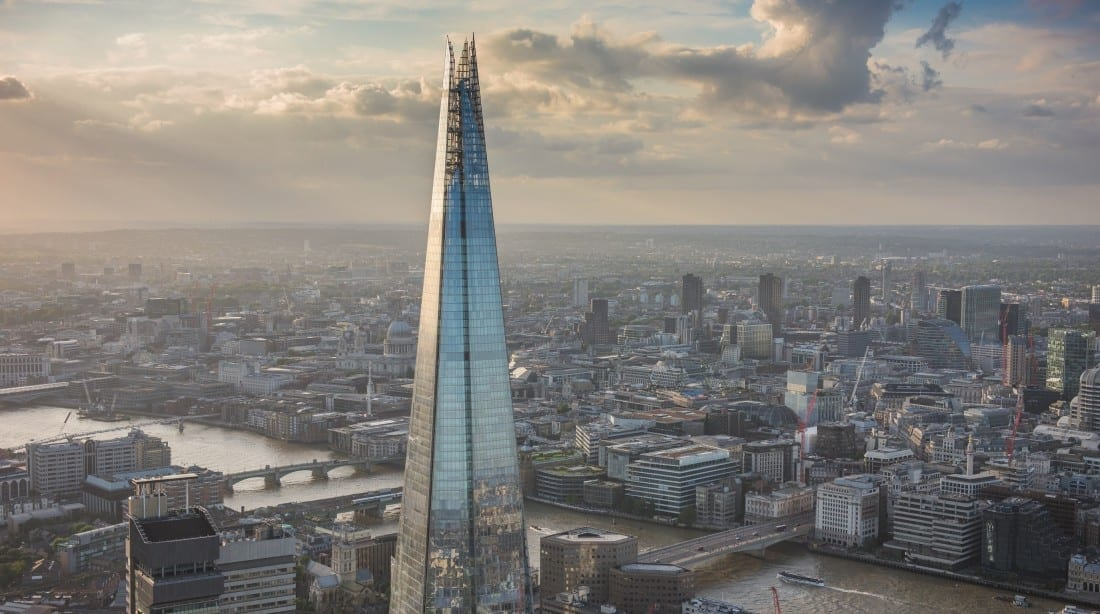 Edificio en el Skyline de Londres, The Shard
