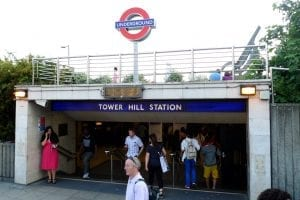 precio hasta Tower Hill Station para ver el Tower Bridge