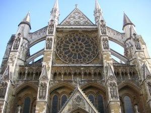 Vistas del Palacio de Westminster desde la Westminster Abbey
