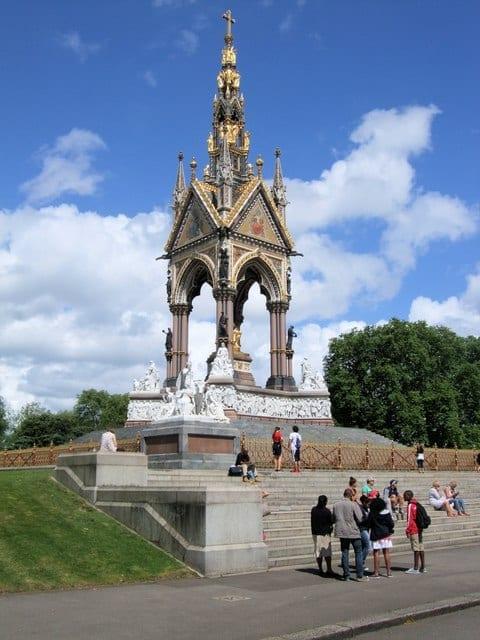 Palacio en Kensington Gardens
