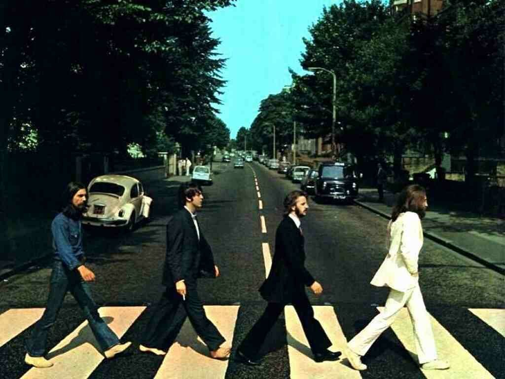 abbey road y la portada del disco de The Beatles