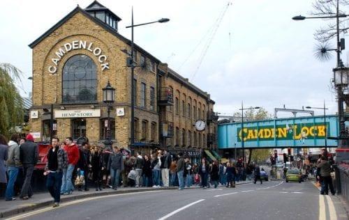 mercadillo de Camden Town