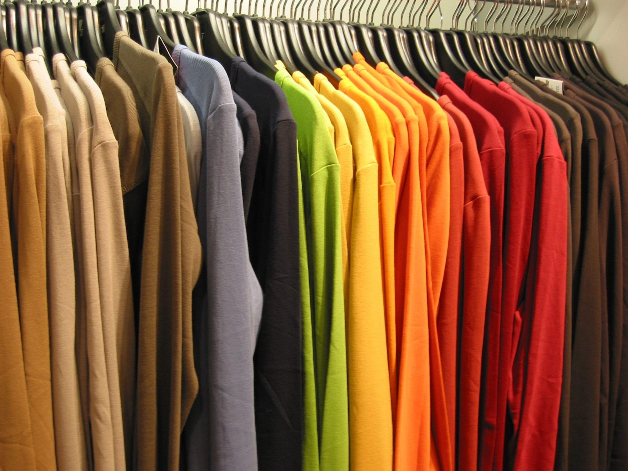closet de ropa en ingles