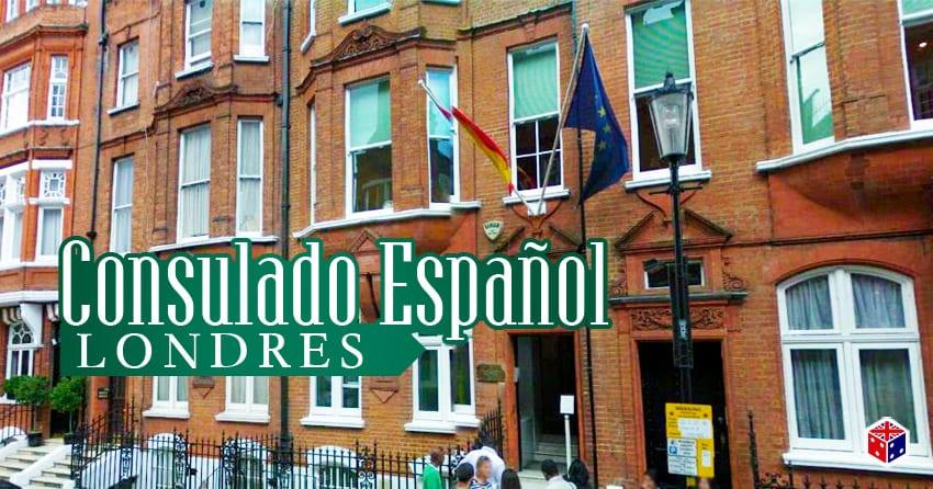 telefono del consulado español en londres