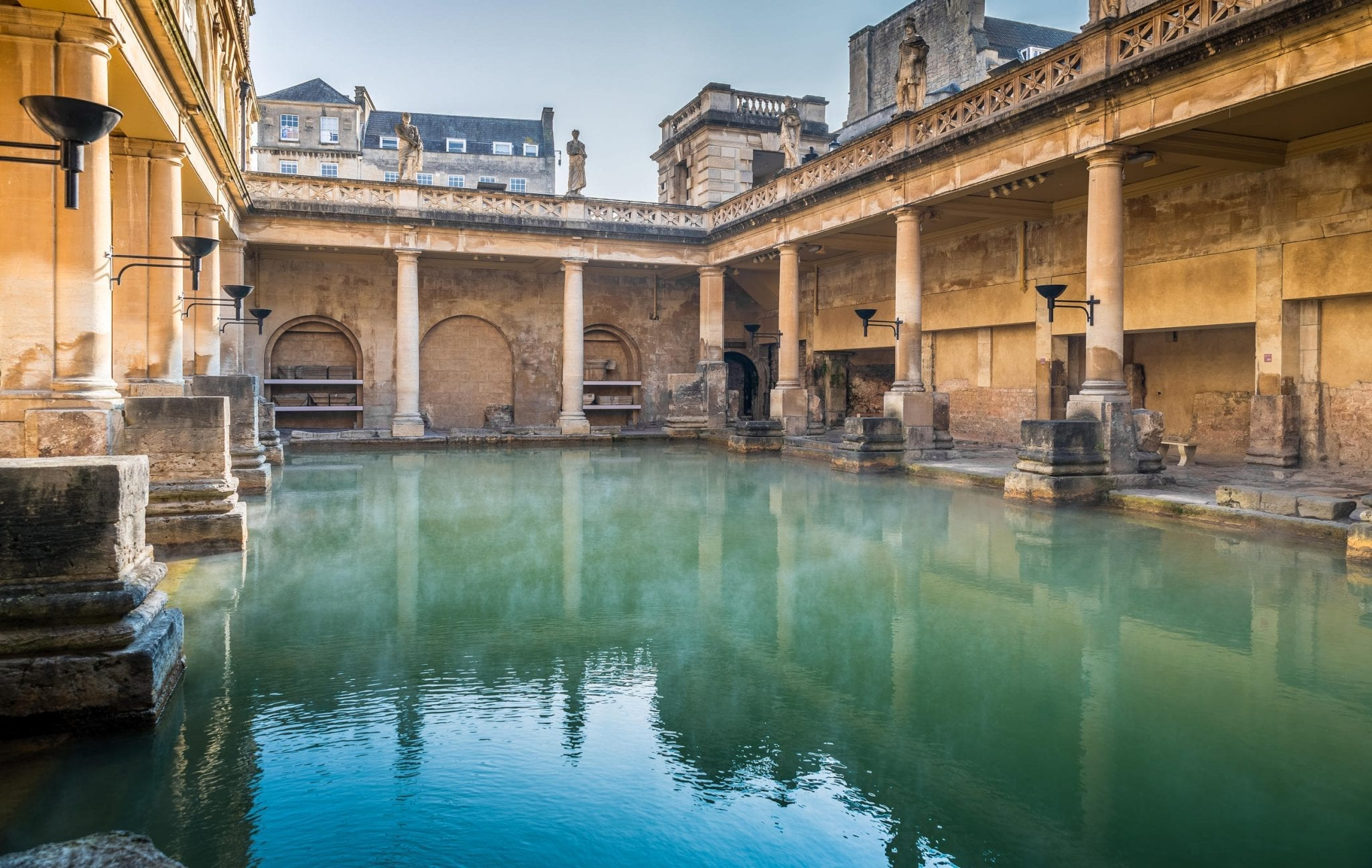Ver las termas de Bath