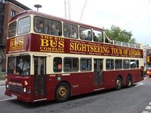 autobús turístico 3 rutas en londres