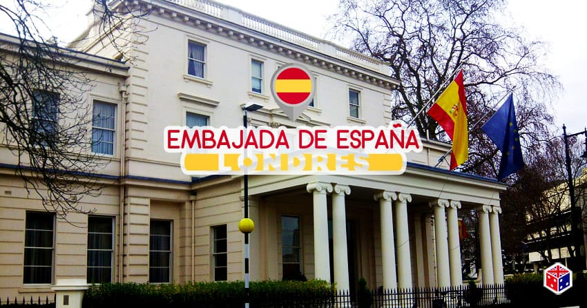 embajada de españa en londres unido reino