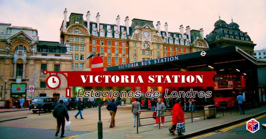 tren de la estacion victoria en londres
