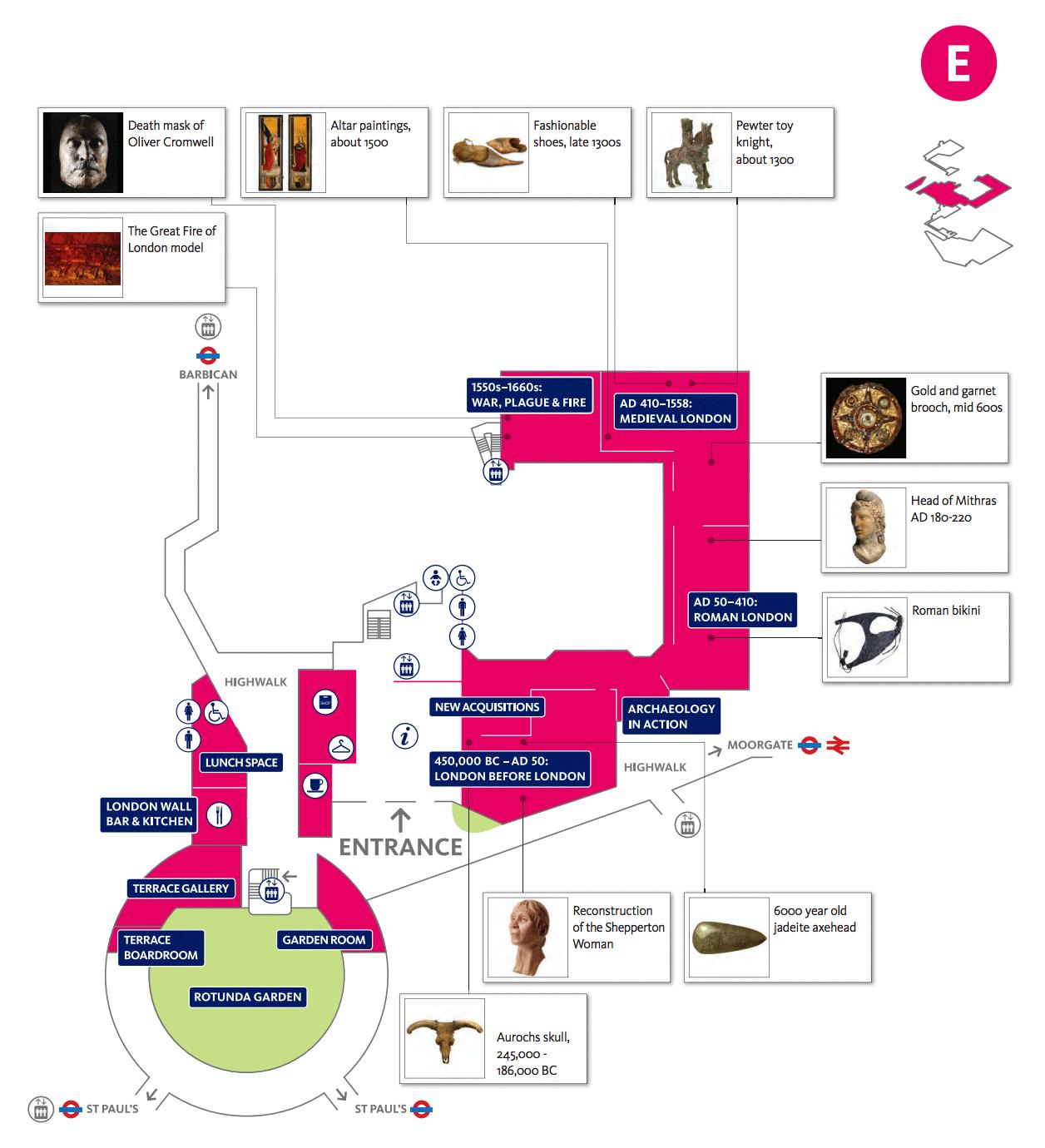 Museo de Londres o London museum