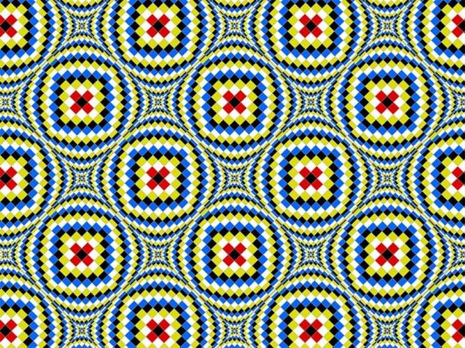 ilusion optica de las formas en ingles