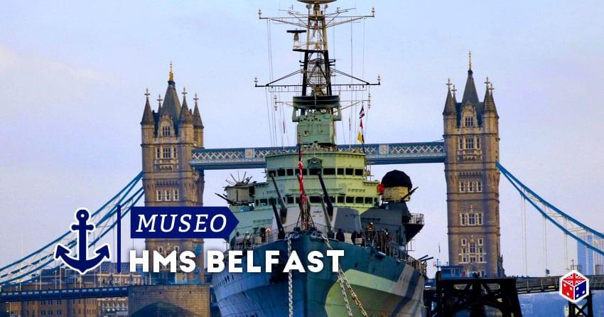 barco museo hms belfast en londres