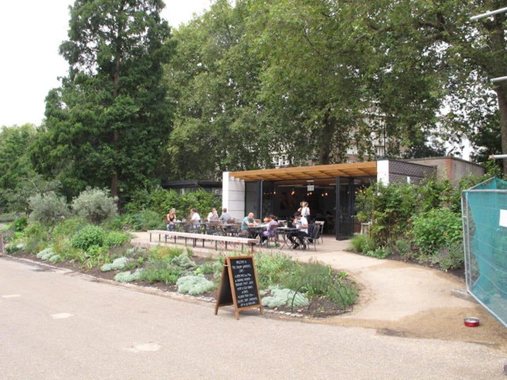 Kensington Gardens en Hyde Park