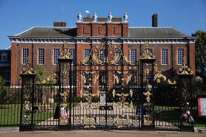 Kensington Palace y Whitehall de la princesa