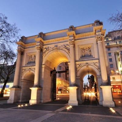 Historia del monumento Marble Arch