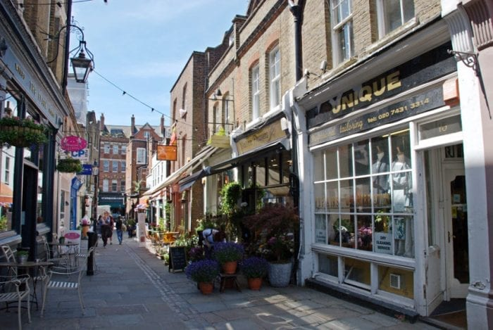 Barrio de Londres: Hampstead