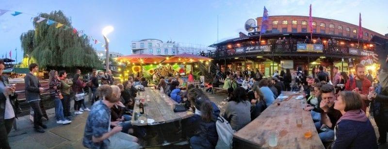 historia y tiendas de Camden Town