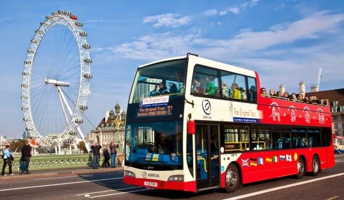 tour en autobus turístico